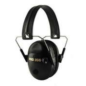 Pro Ears Pro Tac 200 NRR 19 Black Electronic Hearing Protection Headset PT200-B PT200-B Black