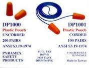 Pyramex Disposable Corded Earplugs 100 Per Box