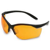 Howard Leight by Honeywell R-01537 Vapour II Black Frame with Orange Lens
