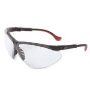 Uvex S3300X Genesis XC Safety Eyewear, Black Frame, Clear UV Extreme Anti-Fog Lens