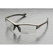 Elvex RX-350C Sonoma Clear Polycarbonate BiFocal Safety / Fashion Glasses with +1.5 Diopters, Brown Frame