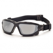 Pyramex I-Force Sporty Dual Pane Anti Fog Silver Mirror Lens Goggle