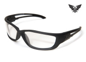 Edge Tactical Eyewear SBR-XL611 Blade Runner Matte Black with Clear Lens, X-Large