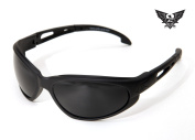 Edge Tactical Eyewear SF61-G15 Falcon Matte Black with G-15 Lens