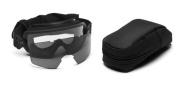 Smith Optics Elite Outside the Wire Goggle Retail Kit, Grey/Black