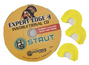 Hunter's Specialties Inc. Strut Expert Edge 3 Diaphragm Calls with CD Combo Pack