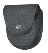 Gould and Goodrich X596 Double Handcuff Case, Fits Belts up to 5.1cm - 0.6cm , Black Ballistic Nylon
