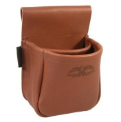 Protektor Model #23A Top Grain Leather Trap/Skeet Shooters Bag - MADE IN USA!