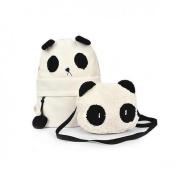 Backpacks of Panda Shape