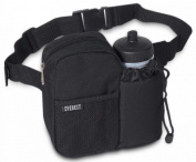 Everest Insulated Water Bottle Waist Fanny Pack Bag BH-14NB Black