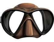 Mares X-VU Liquidskin Spear Fishing Mask - Brown - Black