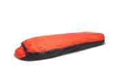 Aqua-Quest Waterproof & Breathable Bivy Bag - Ultralight One Person Tent - Sleeping Bag Cover - Sunset Orange 2012 Model