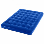 Wenzel Twin Flocked Air Bed with Built-in Comfort Adjust Manual Pump