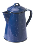 GSI Enamel Coffee Pot, 6 Cup, Blue