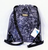 White & Black Texture Backpack 40.6cm x 35.6cm