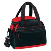 Yens® Fantasybag Classic Dome 6-Pack Cooler-Black/Red,6CP-2709