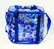Insulated Fruit Beach Cooler Bag Apple Pineapple Strawberry Cherry 12 X 29.2cm x 17.8cm Blue
