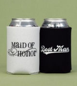 Maid Of Honour & Best Man Can Coolers