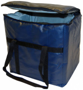 Phoenix 33cm by 60cm by 25cm Insulated Delivery Bags, Dark blue