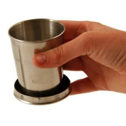 Stainless Steel Collapsible Cup, Emergency Zone Brand