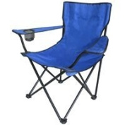 Mintcraft GB-7230 Blue Camping Chair with Bag