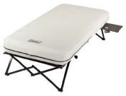 Coleman C001 Twin Airbed Cot with Side Table and 4D Battery Pump