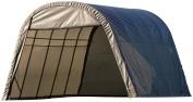 ShelterLogic 74332 Grey 12'x24'x10' Round Style Shelter