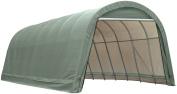 ShelterLogic 95341 Green 14'x20'x12' Round Style Shelter