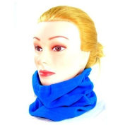 New Fleece Neck Gaiter NeckWarmer Neck Warmer, PN-BL, Blue