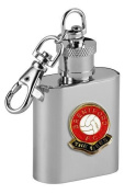 Football Club Keyring Flasks-Brentford 'The Bees' Football Club 30ml Keyring Hip Flask