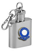 Football Club Keyring Flasks-Leicester City 'The Foxes' Football Club 30ml Keyring Hip Flask
