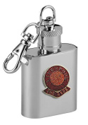 Football Club Keyring Flasks-Liverpool 'The Reds' Football Club 30ml Keyring Hip Flask