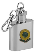 Football Club Keyring Flasks-Norwich City ' The Canaries' Football Club 30ml Keyring Hip Flask