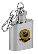 Football Club Keyring Flasks-Oxford United 'The U'S' Football Club 30ml Keyring Hip Flask