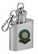 Football Club Keyring Flasks-Plymouth Argyle 'The Pilgrims' Football Club 30ml Keyring Hip Flask