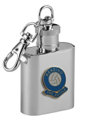 Football Club Keyring Flasks-Reading 'The Royals' Football Club 30ml Keyring Hip Flask