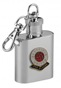 Football Club Keyring Flasks-Sheffield United 'The Blades' Football Club 30ml Keyring Hip Flask