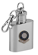 Football Club Keyring Flasks-West Bromwich Albion 'The Throstles' Football Club 30ml Keyring Hip Flask