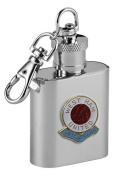 Football Club Keyring Flasks-West Ham United Football Club 30ml Keyring Hip Flask