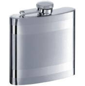 New - Band Stainless Steel 180ml Flask by VISOL