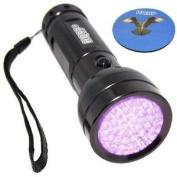 HQRP 390 nM 51 LED Professional UV Ultraviolet Inspection / Detection / Identification Flashlight Blacklight + HQRP Coaster