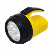 Dorcy 41-1047 4AA 9 LED Lantern with Batteries, Assorted Colours