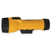 Rayovac IN2-KML 2 Cell D Size Yellow Industrial Flashlight with Krypton Bulb and magnet [PRICE is per EACH]