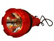 AExtrema Red Rubberized Flashlight