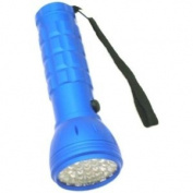 37 LED Bulb All Metal Flashlight