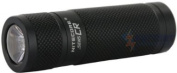 Nitecore SENS Mini LED Flashlight w/ Active Dimming, Black, 190 Lumens, Uses NITECORE-SENS-CR