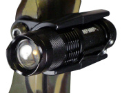Hot Shot Tactical HSFMBC 2.5cm Bow Light Mount Works with Hot Shot Tactical Mini Flashlight and Most Barrel Lights
