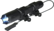 ATN J169W Tactical Flashlight Weapon Mountable with control wire and 169 Lumen LED bulb