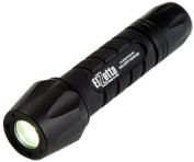 Elzetta ZFL-M60-SF2S Tactical Weapon LED Flashlight with Flood Lens Standard Bezel, 2-Cell, Click High/Strobe Tail Cap