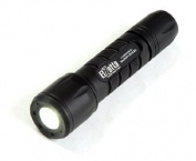 Elzetta ZFL-M60-LF2D Tactical Weapon LED Flashlight with Flood Lens Low Profile Bezel, 2-Cell, High/Low Click Tail Cap